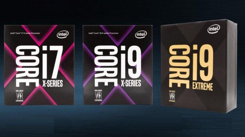 los procesadores Intel Core Serie X