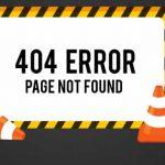 que significa el codigo de error http 404 not found