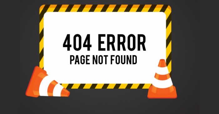 Que significa el código de error HTTP 404 Not Found y como Solucionar